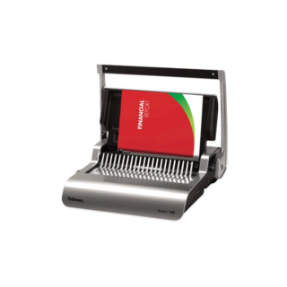 Fellowes-Quasar-+500-Plastic-Comb-Binder
